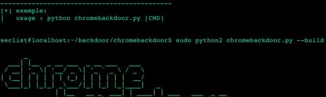 ChromeBackdoor v3.0 - The Botnet Browser backdoor.