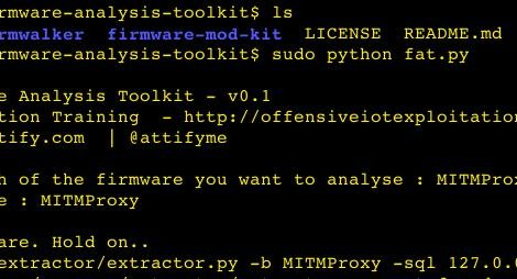 Toolkit to emulate firmware and analyse it for security vulnerabilities.