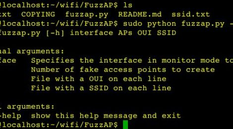 FuzzAP - A python script for obfuscating wireless networks.