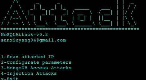 NoSQLAttack v0.2 - tool to automate exploit MongoDB server IP on Internet.