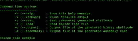 Shellcode compiler - assembly and shellcode generator.