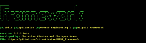 MARA v0.2.2 - is a Mobile Application Reverse engineering and Analysis Framework.