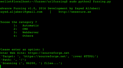 urlfuzzing - Advance URL Fuzzing & Whois Domain.