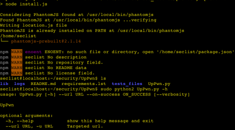 UpPwn - A script that automate detection of security flaws on websites file upload systems.