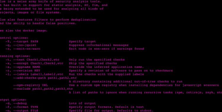 Glue is a swiss army knife of security analysis tools.