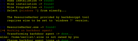 backdoorppt ~ microsoft -office spoofing extensions tool.