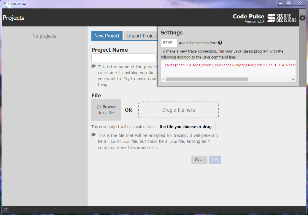 Code Pulse is a purely black box tool for penetration during assessment.