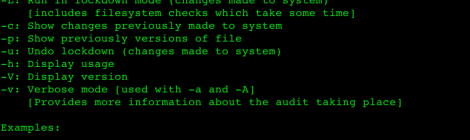 lunar - a unix security auditing tool and reporting.