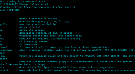 Vuurmuur - is a powerful firewall manager built on top of iptables on Linux.