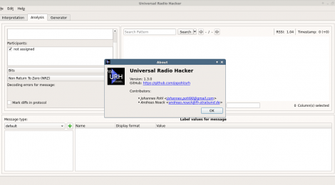Universal Radio Hacker is a suite for investigating unknown wireless protocols.
