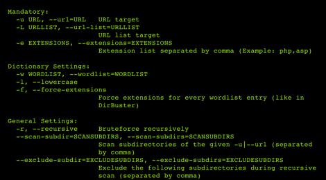 dirsearch - a command line tool designed to brute force directories & files in websites.
