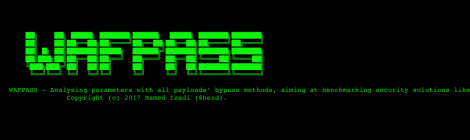 wafpass - Analysing parameters with all payload bypass methods, aiming at benchmark security solutions like WAF.