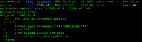 DBShield - Database firewall.