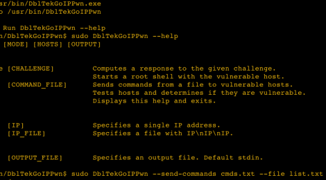 DblTekGoIPPwn - Tool to exploits challenge response system in vulnerable DblTek GoIP devices.