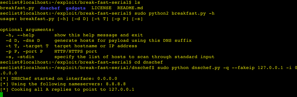 break fast serial ~ A poc that demonstrates asynchronous scanning for Java deserialization bugs.