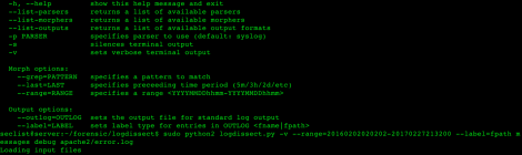 logdissect is a tool for gaining insight into syslog files.
