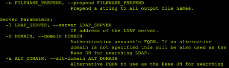 ad-ldap-enum ~ An LDAP based Active Directory user and group enumeration tool.