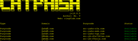CATPHISH - For phishing and corporate espionage.