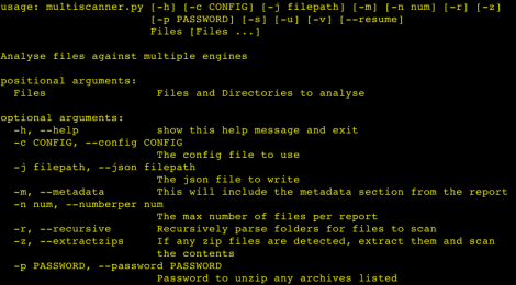 Multiscanner - Analyse files against multiple engines.