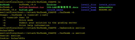 CSAPP - Buffer Overflow Attacks / Bufbomb Lab.