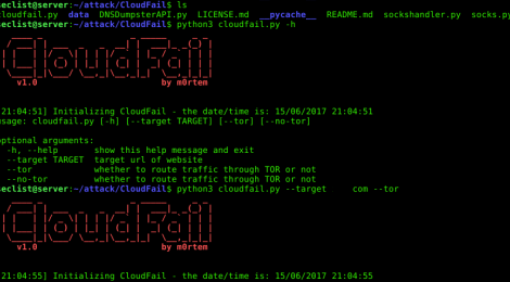 CloudFail is a tactical reconnaissance tool to find hidden IP's behind the CloudFlare network.