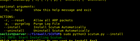 Scutum is an ARP firewall that prevents your computer from being arp spoofed.