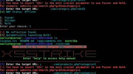 XSStrike is a python which can fuzz and bruteforce parameters for XSS.