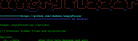 angryFuzzer - tools to gather information and discover vulnerabilities.