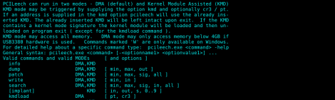 pcileech - Direct Memory Access (DMA) Attack Software.