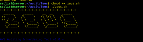 Zeus - AWS Auditing & Hardening Tool.