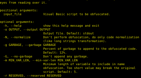 VisualBasicObfuscator - Visual Basic script obfuscator for penetration testing.