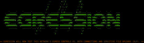 Egression - tools for testing the data loss prevention controls on a corporate network.