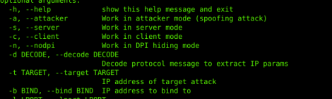 penthefire - Security tool implementing attacks test the resistance of firewall.