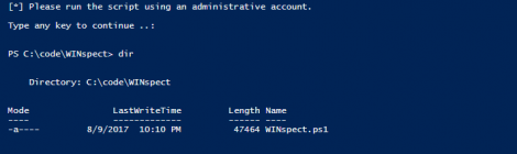 winspect - Powershell based Windows Security Auditing Toolbox.