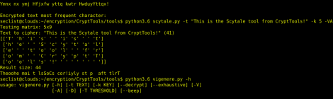 CryptTools - Tools for encryption, decryption and cracking from several cryptography systems.