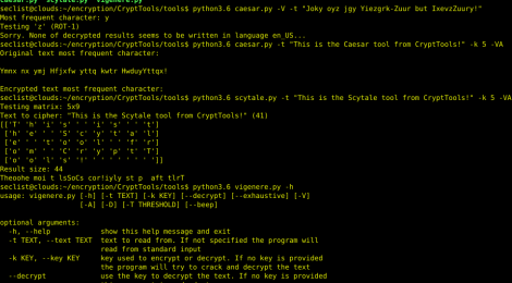 CryptTools – Tools for encryption, decryption and cracking