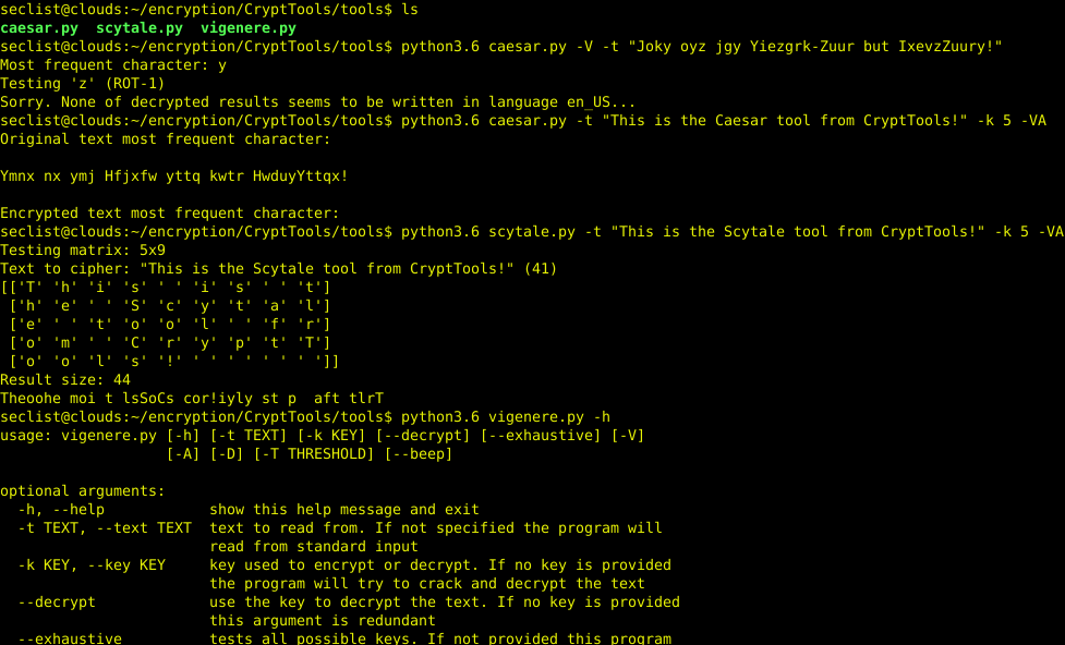 CryptTools – Tools for encryption, decryption and cracking from