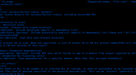Siofra - DLL Hijacking Vulnerability Scanner and PE Infection Tool.
