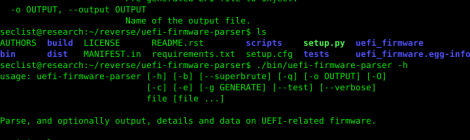 uefi firmware parser - Parse BIOS/Intel ME/UEFI firmware related structures: Volumes, FileSystems, Files, etc.