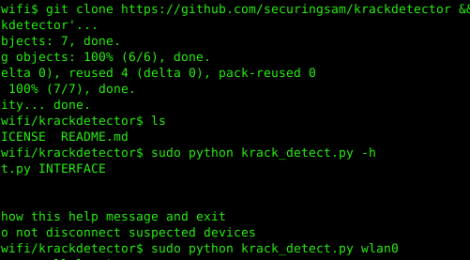 krackdetector - Detect and prevent KRACK attacks in your network.