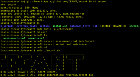 secant - Security Cloud Assessment Tool.