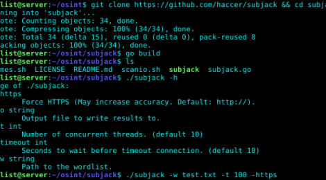 subjack is a Hostile Subdomain Takeover tool.