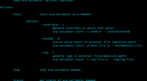 arp-validator ~ Security Tool to detect arp poisoning attacks.