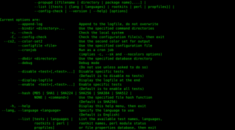 Rootkit Hunter - security monitoring and analyzing tool for POSIX compliant systems.