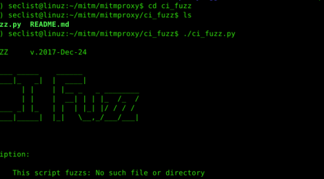 ci_fuzz - Command Injection Web Fuzzer Script for mitmproxy.