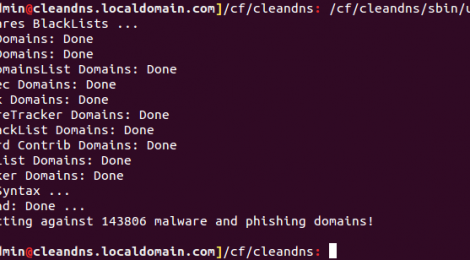 CleanDNS - A DNS based malware protection.