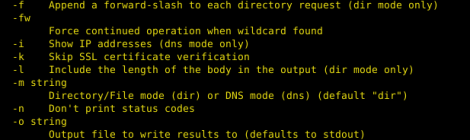gobuster - Directory/file & DNS busting tool.