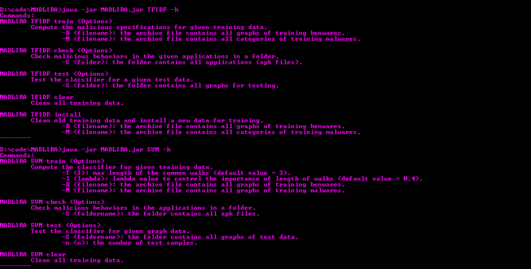 MADLIRA - Malware detection using learning and information retrieval for Android.