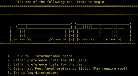 Transit : a Mac-OS incident Response Toolkit.